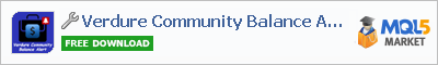 Utilitie Verdure Community Balance Alert