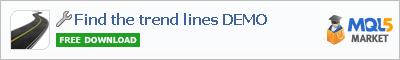 Analyzer Find the trend lines DEMO