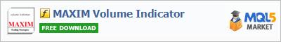 Indicator MAXIM Volume Indicator