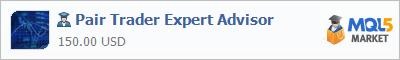 Expert Advisor Pair Trader Expert Advisor