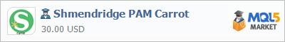 Buy Shmendridge PAM Carrot Expert Advisor in the store selling algo trading systems