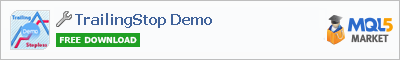 Buy TrailingStop Demo trading application in the store of automated robot systems
