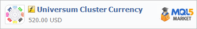 Buy Universum Cluster Currency customer indicator in the store selling algo trading systems