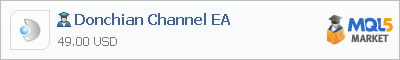Buy Donchian Channel EA Expert Advisor in the store selling algo trading systems