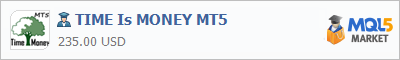 Buy TIME Is MONEY MT5 Expert Advisor in the store selling algo trading systems