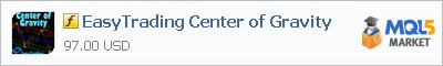 Купить индикатор EasyTrading Center of Gravity в магазине систем алготрейдинга