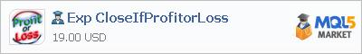 Советник Exp CloseIfProfitorLoss