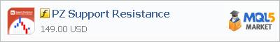 Индикатор PZ Support Resistance