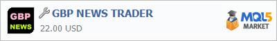 Купить приложение GBP NEWS TRADER в магазине систем алготрейдинга