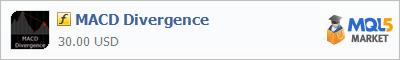 Купить индикатор MACD Divergence в магазине систем алготрейдинга