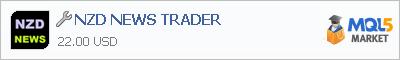 Купить приложение NZD NEWS TRADER в магазине систем алготрейдинга