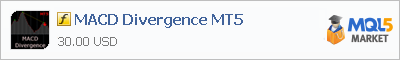 Купить индикатор MACD Divergence MT5 в магазине систем алготрейдинга