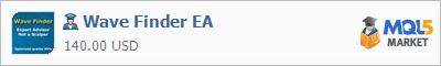 Купить эксперта Wave Finder EA в магазине систем алготрейдинга
