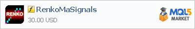 Купить индикатор RenkoMaSignals в магазине систем алготрейдинга