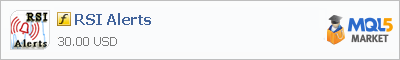 Купить индикатор RSI Alerts в магазине систем алготрейдинга
