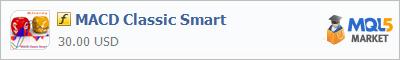 Индикатор MACD Classic Smart