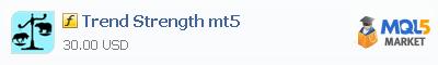 Купить индикатор Trend Strength mt5 в магазине систем алготрейдинга