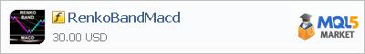 Купить индикатор RenkoBandMacd в магазине систем алготрейдинга