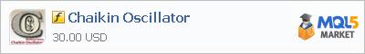 Купить индикатор Chaikin Oscillator в магазине систем алготрейдинга