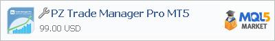 Купить эксперта PZ Trade Manager Pro MT5 в магазине систем алготрейдинга