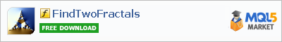 Индикатор FindTwoFractals