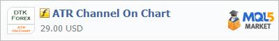 Купить индикатор ATR Channel On Chart в магазине систем алготрейдинга
