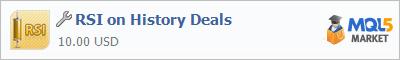 Купить приложение RSI on History Deals в магазине систем алготрейдинга