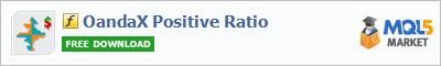 Купить индикатор OandaX Positive Ratio в магазине систем алготрейдинга