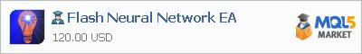 Купить эксперта Flash Neural Network EA в магазине систем алготрейдинга