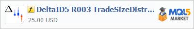 Купить индикатор DeltaID5 R003 TradeSizeDistribution в магазине систем алготрейдинга