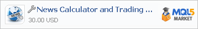 Купить приложение News Calculator and Trading Panel в магазине систем алготрейдинга