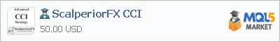 Советник ScalperiorFX CCI