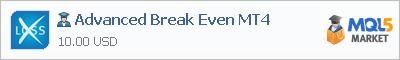 Советник Advanced Break Even MT4