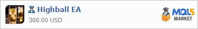 Купить эксперта Highball EA в магазине систем алготрейдинга