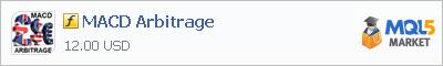 Индикатор MACD Arbitrage