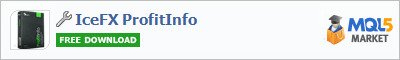 Панель IceFX ProfitInfo