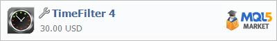 Купить приложение TimeFilter 4 в магазине систем алготрейдинга