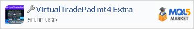 Купить приложение VirtualTradePad mt4 Extra в магазине систем алготрейдинга