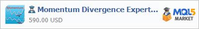 Советник Momentum Divergence Expert Advisor