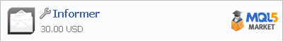 Купить приложение Informer в магазине систем алготрейдинга