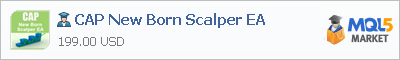 Советник CAP New Born Scalper EA