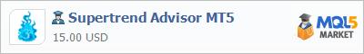 Купить эксперта Supertrend Advisor MT5 в магазине систем алготрейдинга