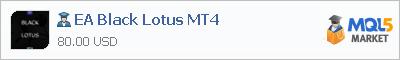 Купить эксперта EA Black Lotus MT4 в магазине систем алготрейдинга