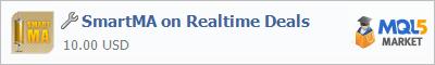 Купить приложение SmartMA on Realtime Deals в магазине систем алготрейдинга