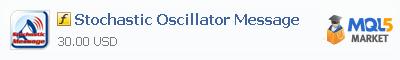 Купить индикатор Stochastic Oscillator Message в магазине систем алготрейдинга