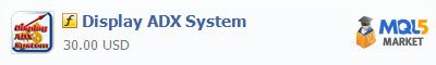 Купить индикатор Display ADX System в магазине систем алготрейдинга