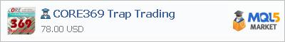 Купить эксперта CORE369 Trap Trading в магазине систем алготрейдинга