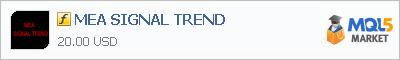 Индикатор MEA SIGNAL TREND