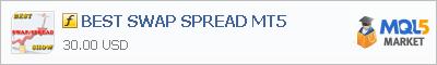 Купить индикатор BEST SWAP SPREAD MT5 в магазине систем алготрейдинга