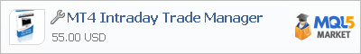 Советник MT4 Intraday Trade Manager